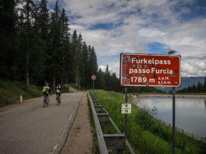 Passo Furcia at 1789 m.