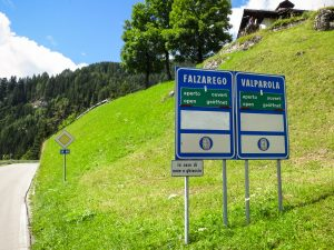 Passo Falzarego and Valparola, 2 climbs in one