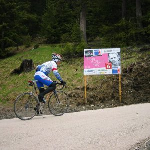 6th hairpin dedicated to Hugo Koblet