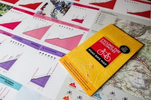 Dolomites Cycling Map