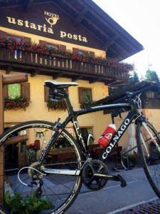 Cycling Dolomites from Ustaria Posta